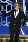 Joaquin Phoenix 77th Golden Globes