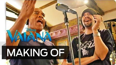 """Making of VAIANA - Der Soundtrack """"We Know the Way"""" Disney HD"""