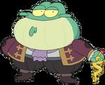 Mayor Toadstool render