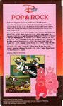 Pop and rock vhs back cover
