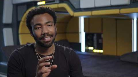 """SOLO Behind The Scenes """"Lando Calrissian"""" Donald Glover Interview - A Star Wars Story"""
