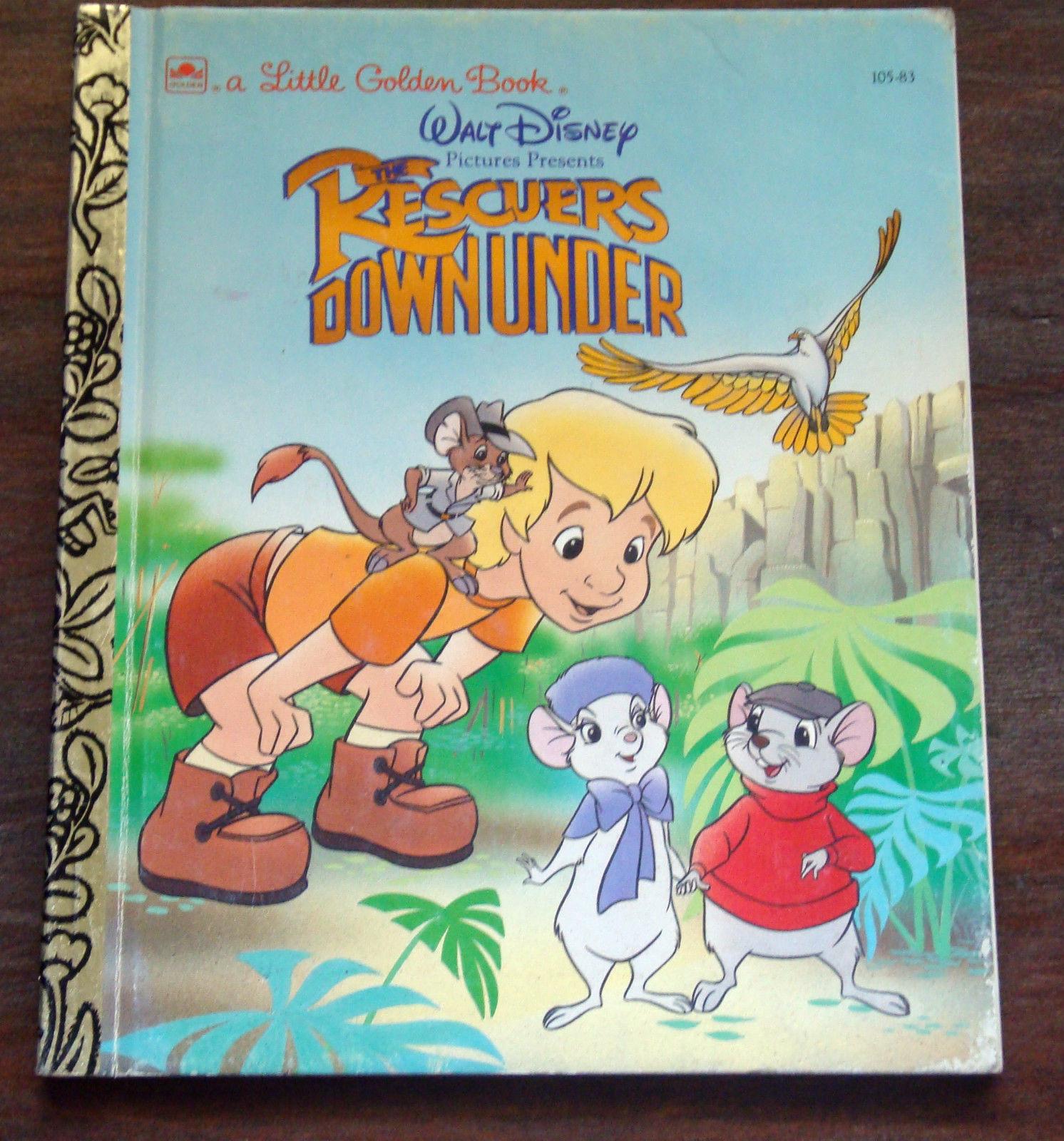 The Rescuers Down Under (Little Golden Book)