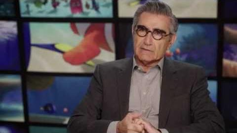 "Finding Dory ""Charlie"" Eugene Levy Behind The Scenes Interview"