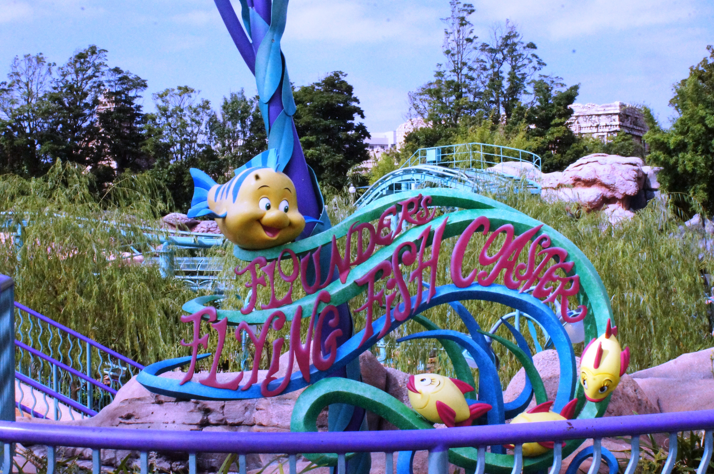 Flounder's Flying Fish Coaster