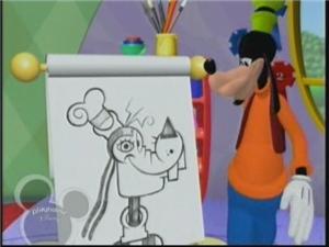A Exposição de Arte do Mickey