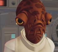 Admiral Ackbar in Disney Infinity