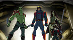 Avengers Assemble - 1x22 - Guardians and Space Knights - Drax, Star-Lord, Gamora, Groot and Rocket Racoon