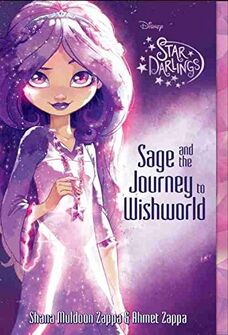 Disney's Star Darlings - Sage and the Journey to Wishworld - Book Cover.jpg