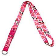 Pink Minnie Lanyard