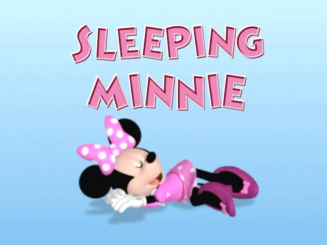 Sleeping Minnie