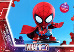 What If Cosbaby Bobble-Heads - Zombie Hunter Spidey