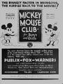 1931 MICKEY CLUBS