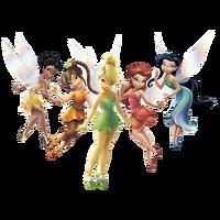 Disney fairies render