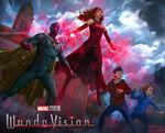 Family WandaVision Concept Art