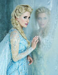 Frozen Musical cast photos - Elsa