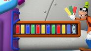 Goofy colored keys