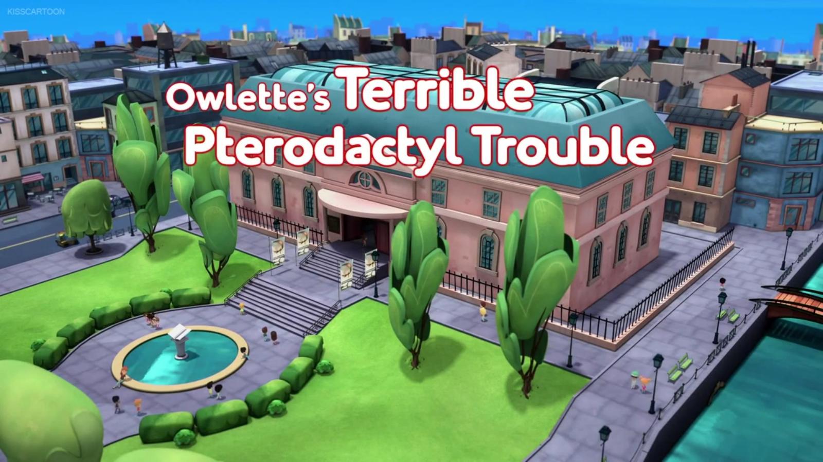 Owlette's Terrible Pterodactyl Trouble