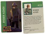 Ryder Azadi Card