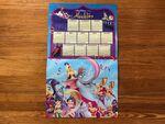 Vintage 1994 Disney's Aladdin Wall Calendar, Costco Promo Calendar:Poster