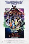 Black Cauldron 1985 poster