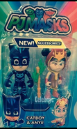 Catboy and Anyu toy figure