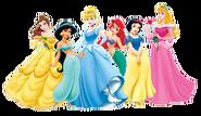 Disney prinsessene