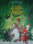Jungle book 1988 french poster