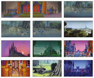 Sleeping Beauty Scenery Concept Art