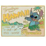 Stitch hawaii pin