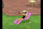 Agent K's Bathing Suit