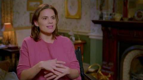 """CHRISTOPHER ROBIN """"Evelyn Robin"""" Hayley Atwell Interview"""
