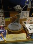 Freude Statue Konzept