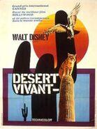 Living desert french poster