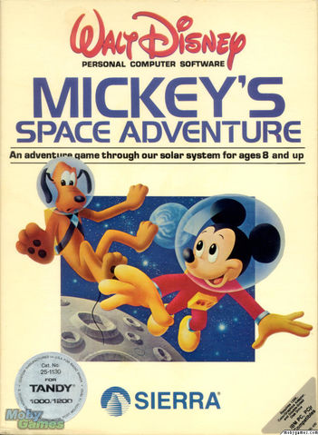 Mickey's Space Adventure