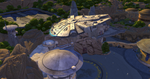 The Sims 4 Star Wars Journey to Batuu - Millennium Falcon flying