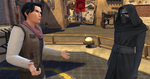 The Sims 4 Star Wars Journey to Batuu - Rey and Kylo's son with Kylo