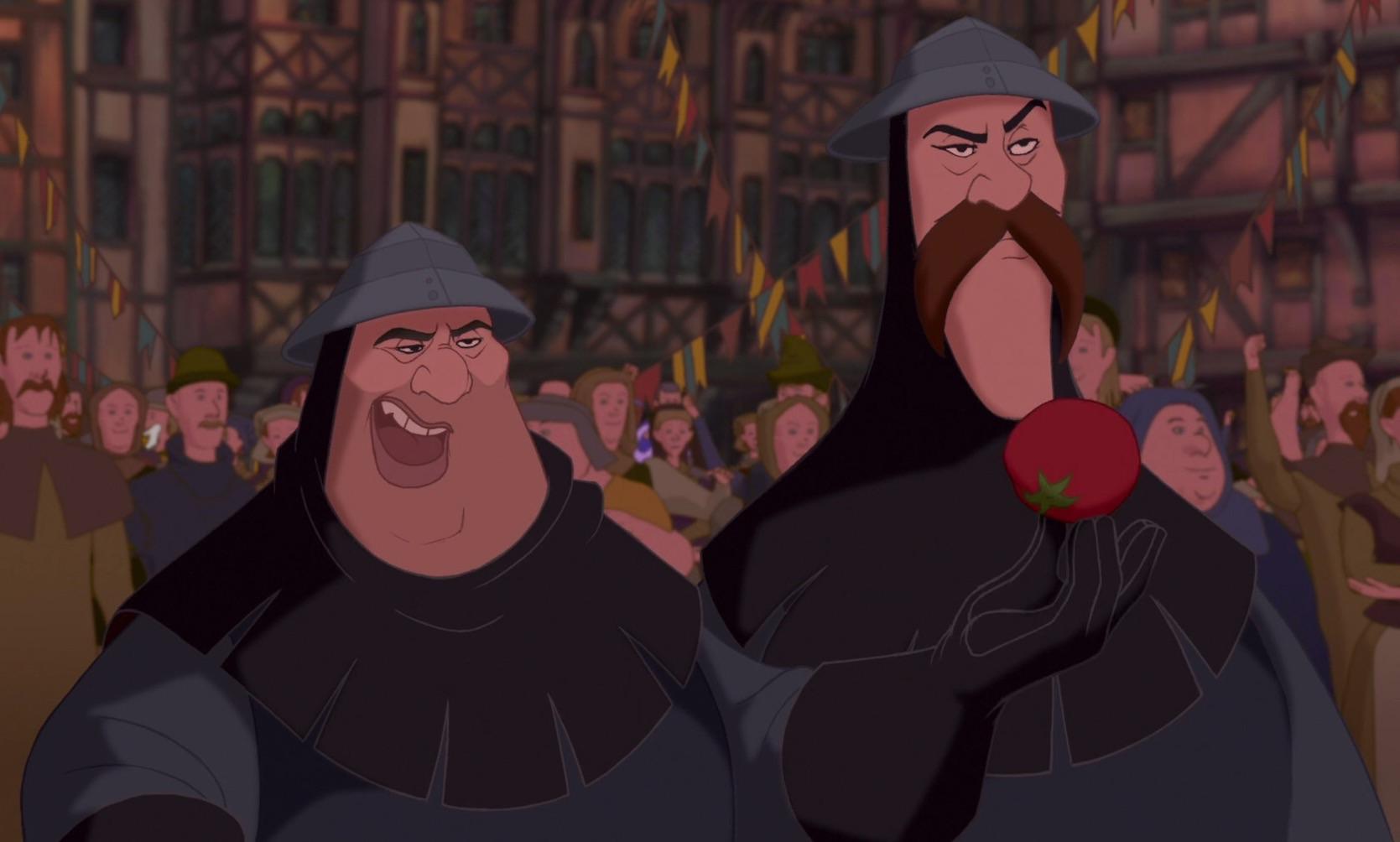 Brutish and Oafish Guards