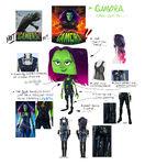 Gamora Avatar Concept Art