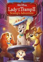 Lady and the Tramp 2 - 2006 Promotional DVD Cover - Special Edition