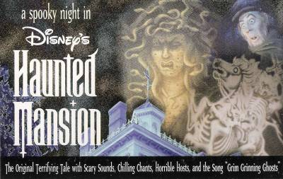 A Spooky Night in Disney's Haunted Mansion