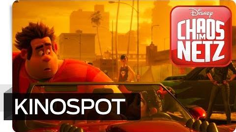 CHAOS IM NETZ - Kinospot Zusammenstoß Disney HD