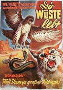 Living desert german poster