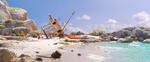 Moana's Boat Crash (Maui's Island)