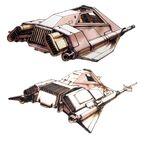 Snow Speeder Concept 1