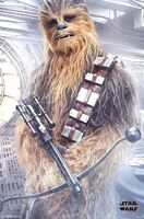 TLJ Chewie Trends Poster