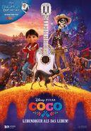 Coco Deutsches Poster
