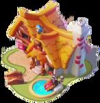 Ba-seven dwarfs cottage