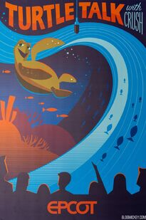 Epcot-experience-attraction-poster-turtle-talk-crush-1
