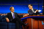 Kevin Kline visits Stephen Colbert