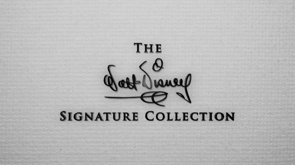 Coleção Signature da Walt Disney